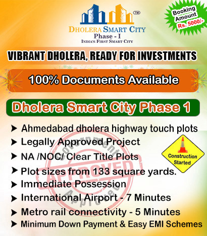 Dholera Smart City Investment